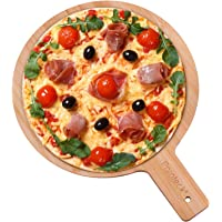 Tabla para pizza de bambú, 30 cm, tabla