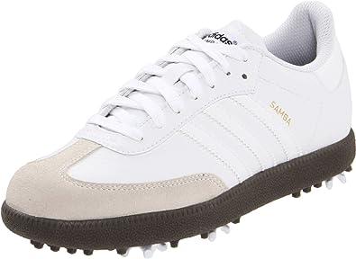 Amazon Com Adidas Jr Samba Golf Shoe Little Kid Big Kid Athletic