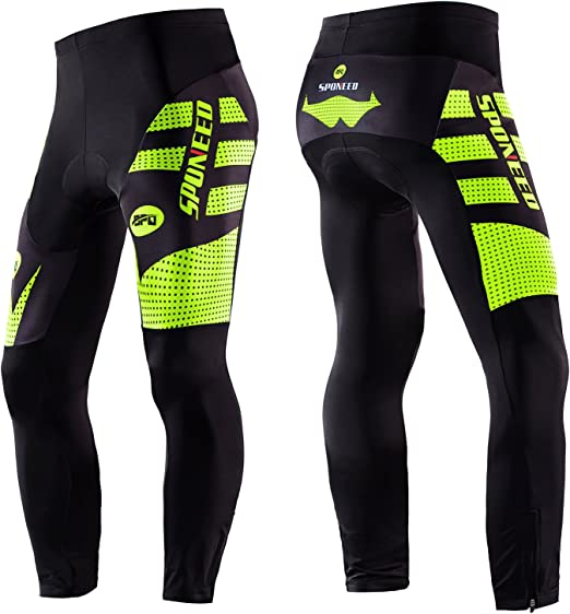 Road Bike Shorts Sponeed Men/'s Cycling Knickers 4D Silicone Padded Biking Tights
