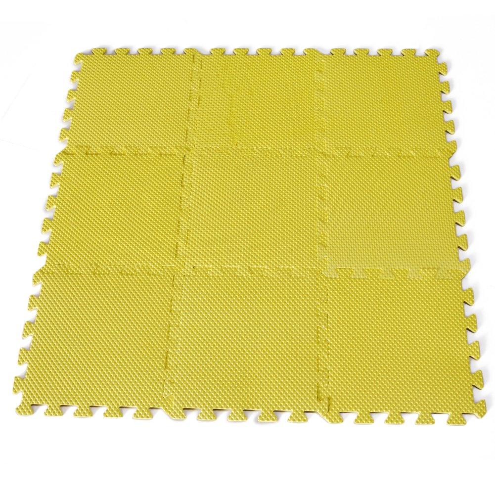 Jaune /… Saint-Acior 10pcs Tapis De Puzzle Tapis de Jeu en Mousse Dalle EVA Enfant Tapis De Jeu Joint Decoration Chambre