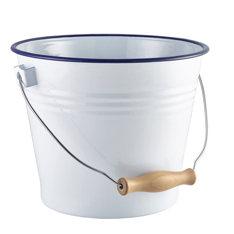 Serviereimer Mini-Eimer Servier Eimer 9,0 cm /Ø und 9,5 cm H/öhe und 0,30 Liter mit Henkel CNS *Premium Qualit/ät*