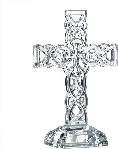 Galway Irish Crystal 10 Celtic Cross