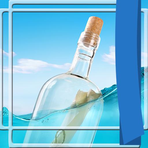 (Bottle Photo Frames)