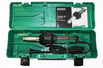 Kit pistola soldador Leister Triac ST 230V/1600W con enchufe europeo: Amazon.es: Bricolaje y herramientas