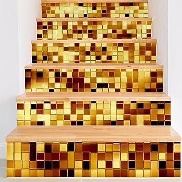 Hochwertig Frolahouse 6 STÜCK Mosaik Dekorative Treppen Aufkleber Fliesen Aufkleber  Peel U0026 Stick Vinyl Adhesive Fliesen.
