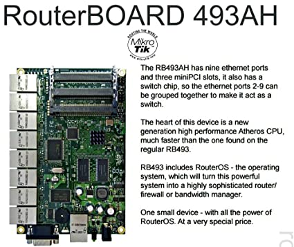 MikroTik RB493AH Router Board Drivers Download Free