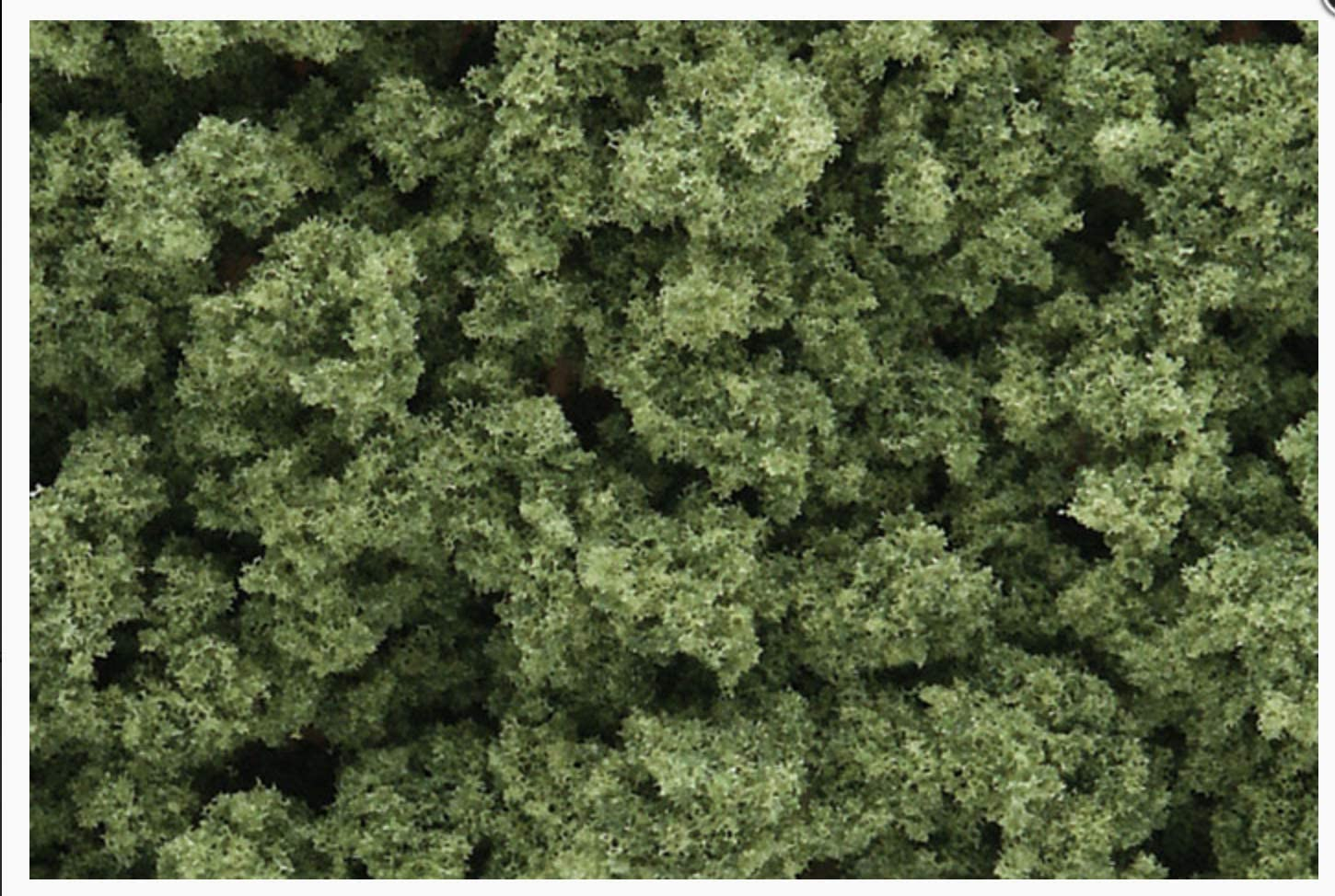 OO//HO busches Woodland Scenics FC1644 Shaker Olive Green Bushes