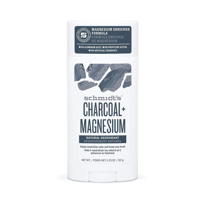 SCHMIDTS DEODORANT Charcoal Magnesium Deodorant, 3.25 OZ