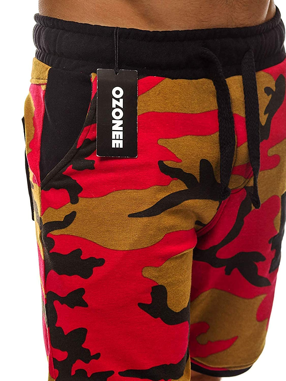 6b6fb7952a1c15 OZONEE Herren Hose Shorts Sportshorts Bermudas Jogg Freizeit Kurze Hose  Sporthose Fitness Street Star 7111: Amazon.de: Bekleidung