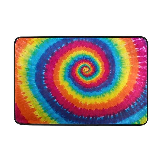 MyDaily tapete Colorido con Estampado de teñido de Corbata de 15.7 ...