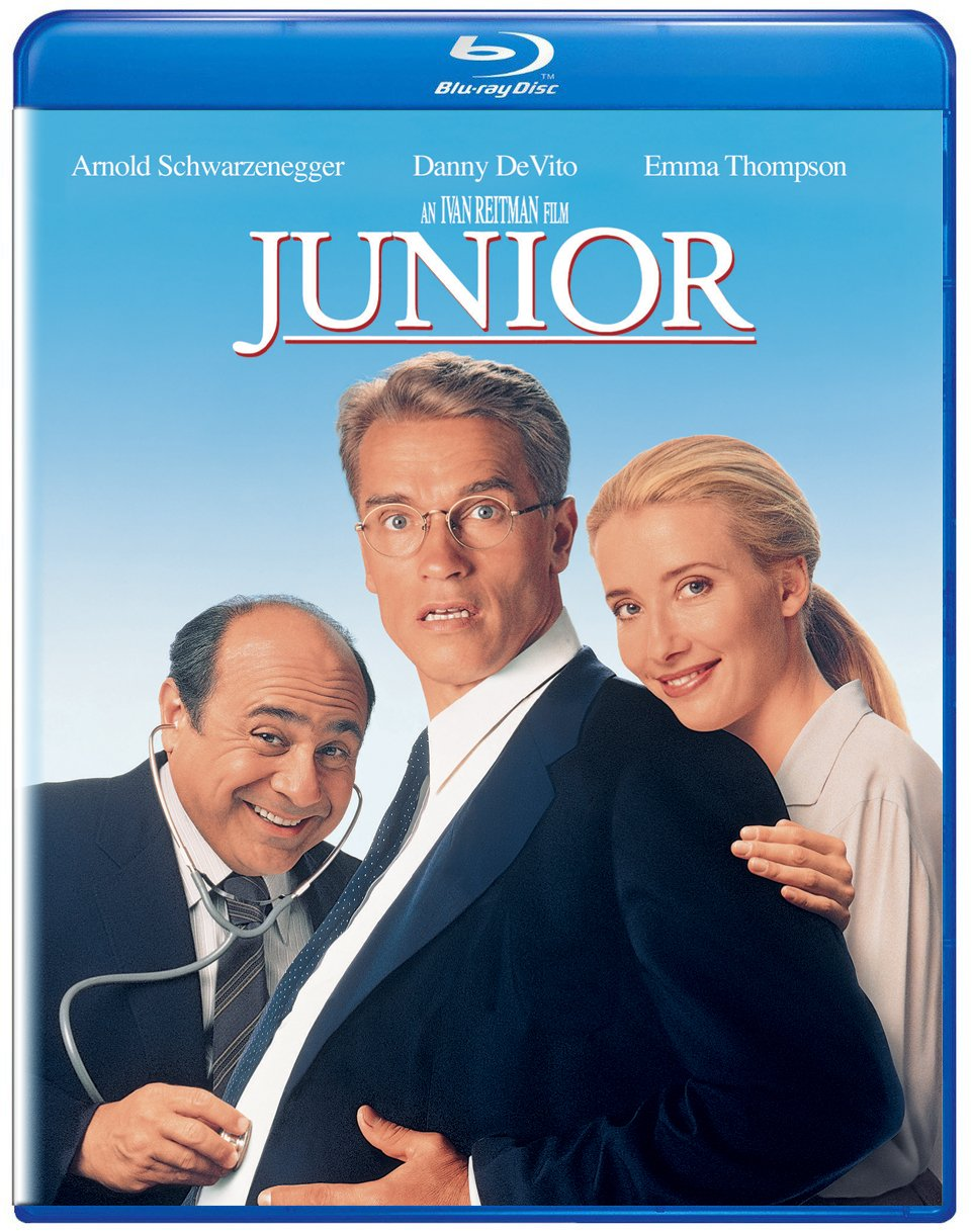 Amazon Com Junior Blu Ray Arnold Schwarzenegger Danny Devito Emma Thompson Ivan Reitman Movies Tv