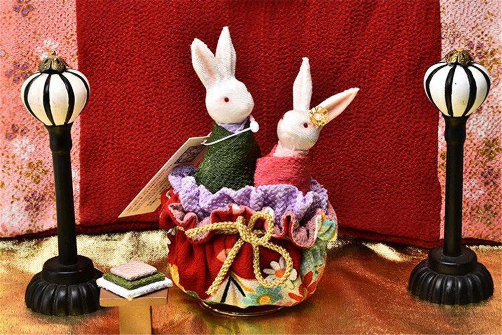 新作 biscount biscount Lover回転Rabbits B072TSHMP5 Musicボックスおもちゃ日本着物スタイルMusicbox Lover回転Rabbits forホームオフィス装飾誕生日クリスマス新しい年卒業式パーティー結婚記念日ギフト B072TSHMP5, アドゥラブル 輸入子供服専門店:cab51148 --- mrplusfm.net
