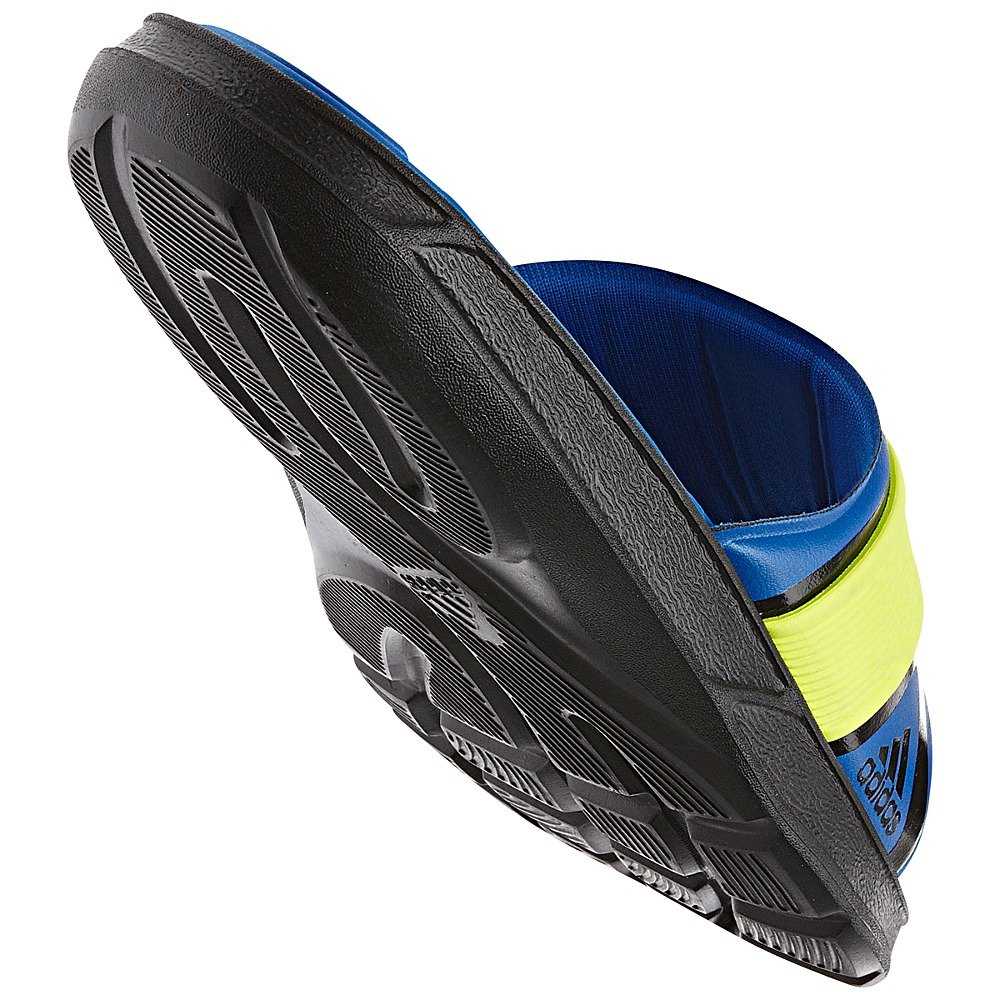 f5abd9de33d791 ... coupon for amazon adidas nitrocharge slides black blue beauty  electricity men sandals 93bf2 0ce2d