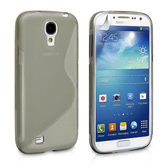 buy popular 9b538 5f07b Phone Cases for Samsung Galaxy S4, Samsung Galaxy S4 Case [Clear] Rugged  Drop Impact Resistant Skin IV i9500 Tough Strong Protective Soft Jelly  Shell ...
