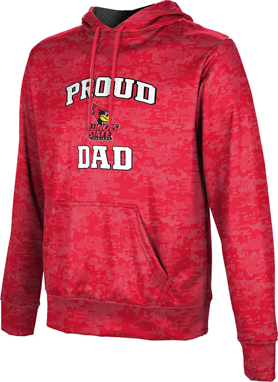 ProSphere Illinois State University Fathers Day Mens Pullover Hoodie School Spirit Sweatshirt Digital