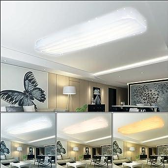 Vgo 30w Wellig Led Deckenleuchte Starlight Effekt Wohnzimmer