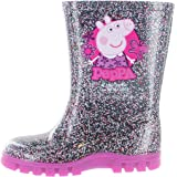 Peppa Pig Lauralyn Wellies/Wellys/Wellington Girls Boots - Purple (4,5,6,7,8,9,10)