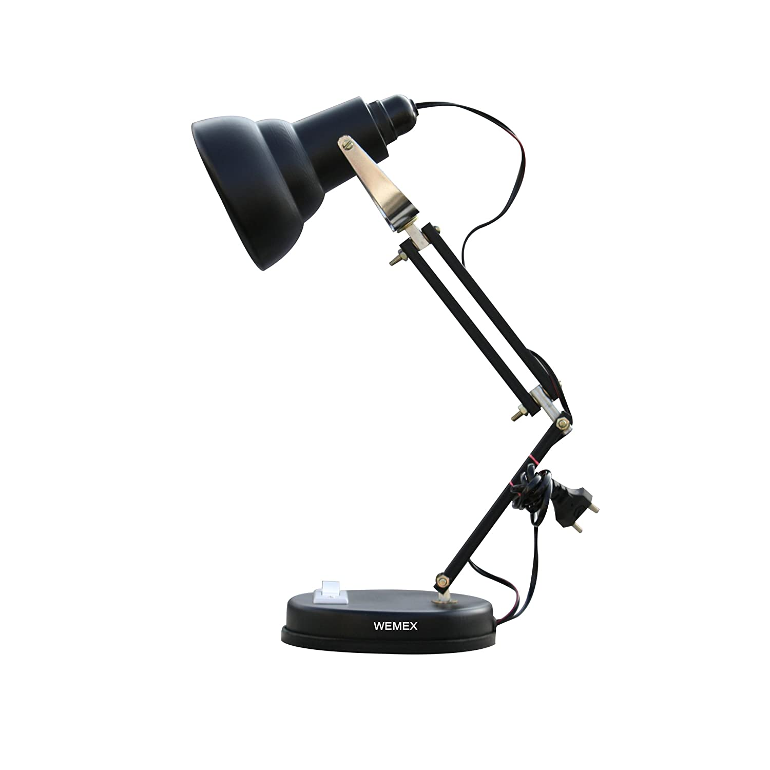 Buy wemex billie jean reading study table lamp matte black online buy wemex billie jean reading study table lamp matte black online at low prices in india amazon aloadofball Choice Image