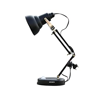 Buy wemex billie jean reading study table lamp matte black online buy wemex billie jean reading study table lamp matte black online at low prices in india amazon aloadofball Image collections