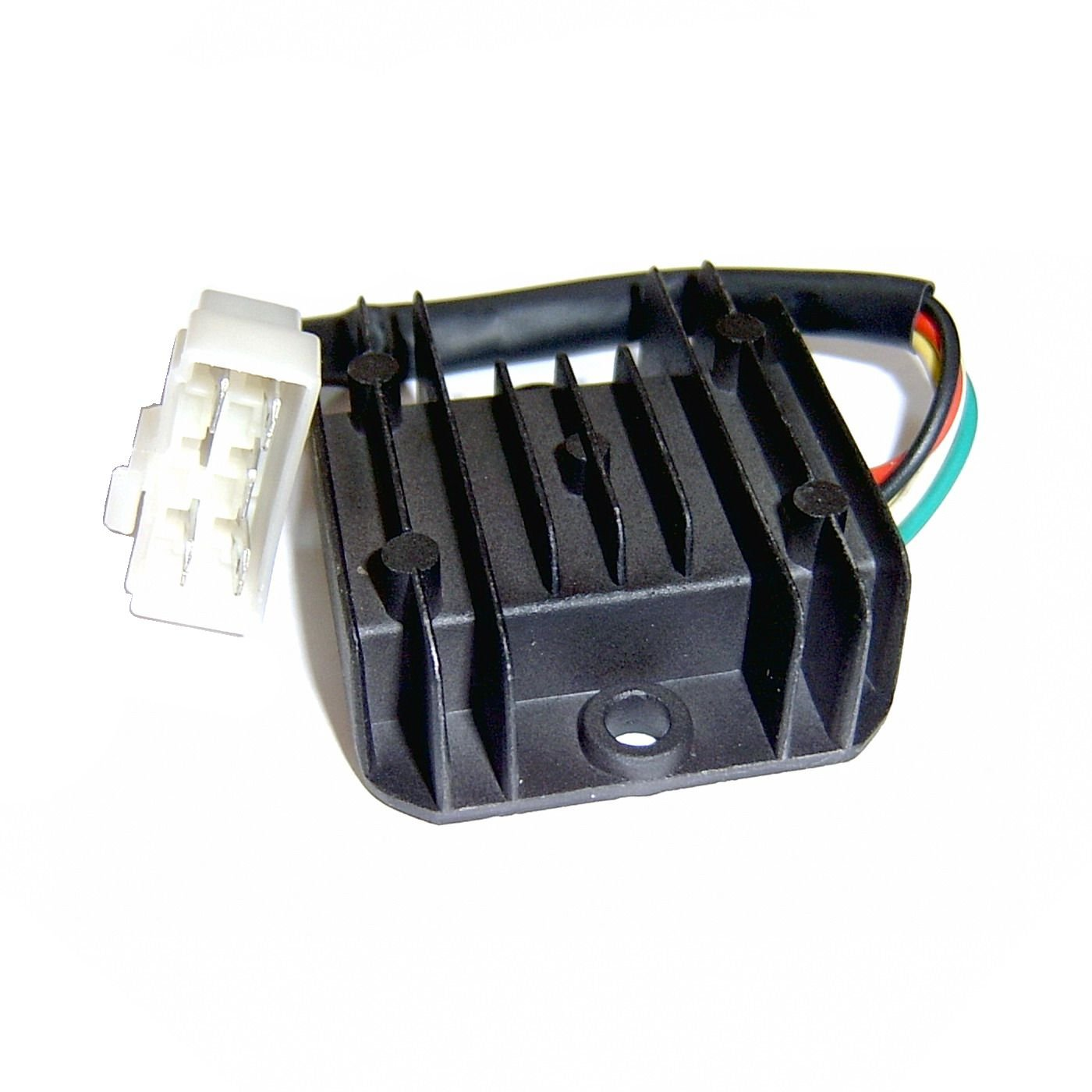 Oem Voltage Regulator Rectifier 12v 5 Pin Chinese Motofino 50cc Wire Diagram 2010 Scooter Gy6 4 Stroke Engines Moped Atv Etc Taotao Jonway Roketa Baja Jcl Peace Vip Tank Znen