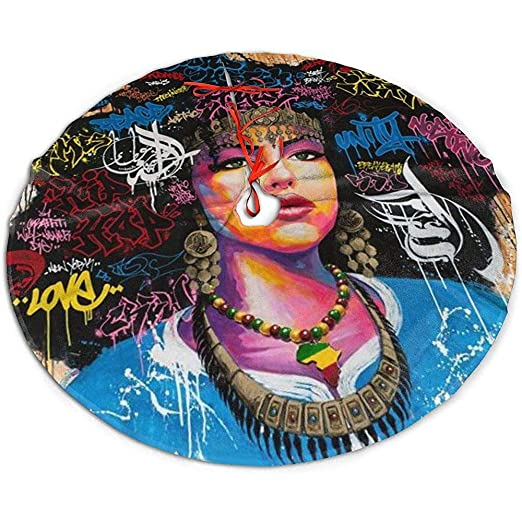 Egoa Tree Skirt Moda Mujer Africana Una Fina Decorativa Falda De ...