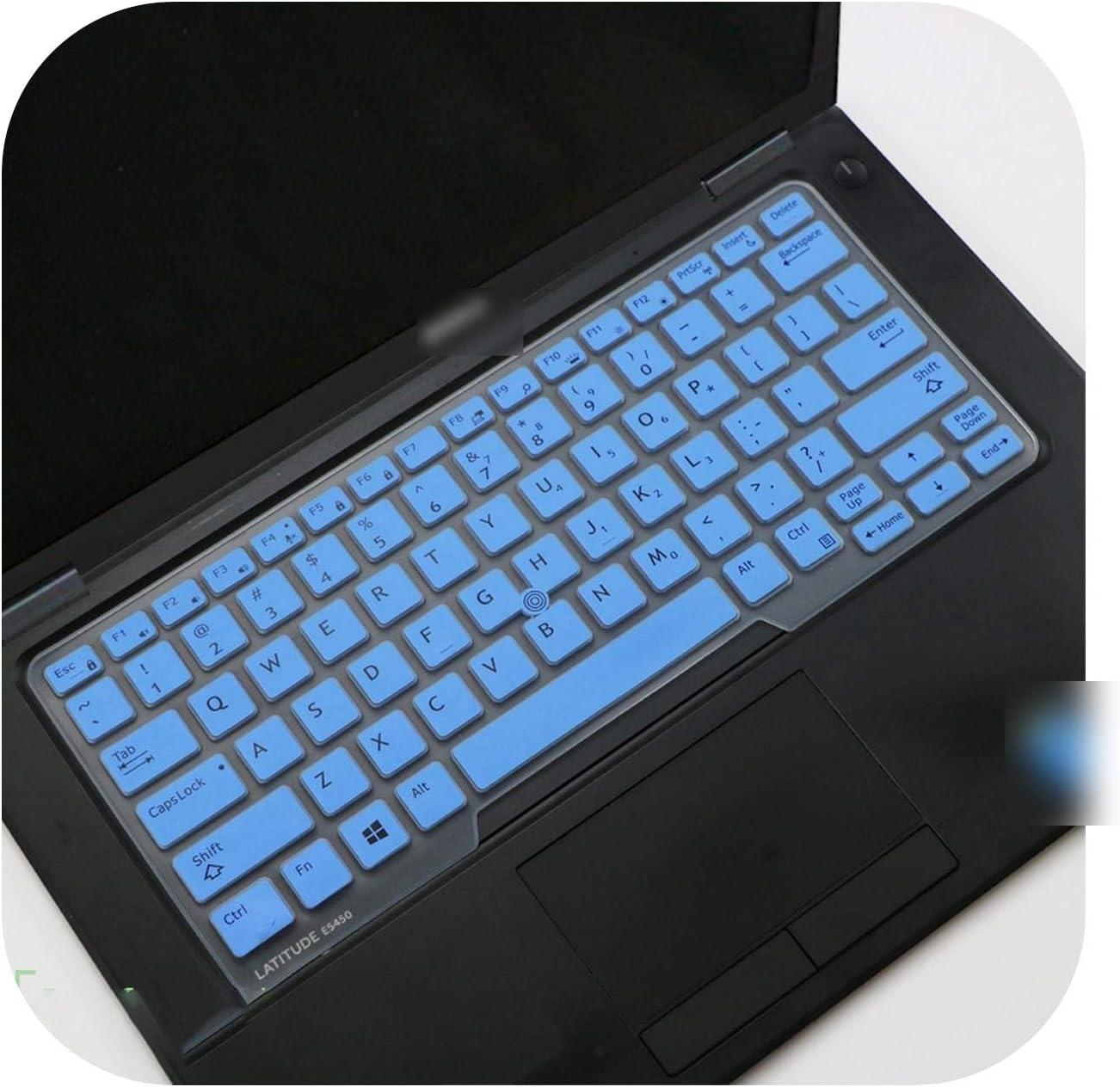 Film Pour Clavier Laptop Keyboard Cover Skin for Dell Latitude 5480 5490 7490 3340 E3340 E5490 5491 E5491 E5450 E5470 E7450 E7470 7480 E7480-Blue-
