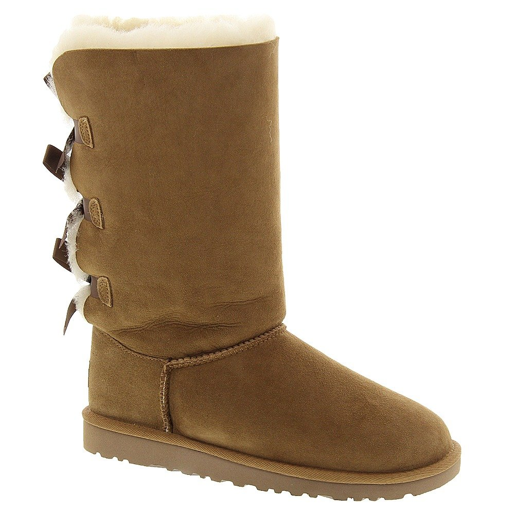 UGG New Australia Bailey Bow Tall Chestnut 6 Youths Boots