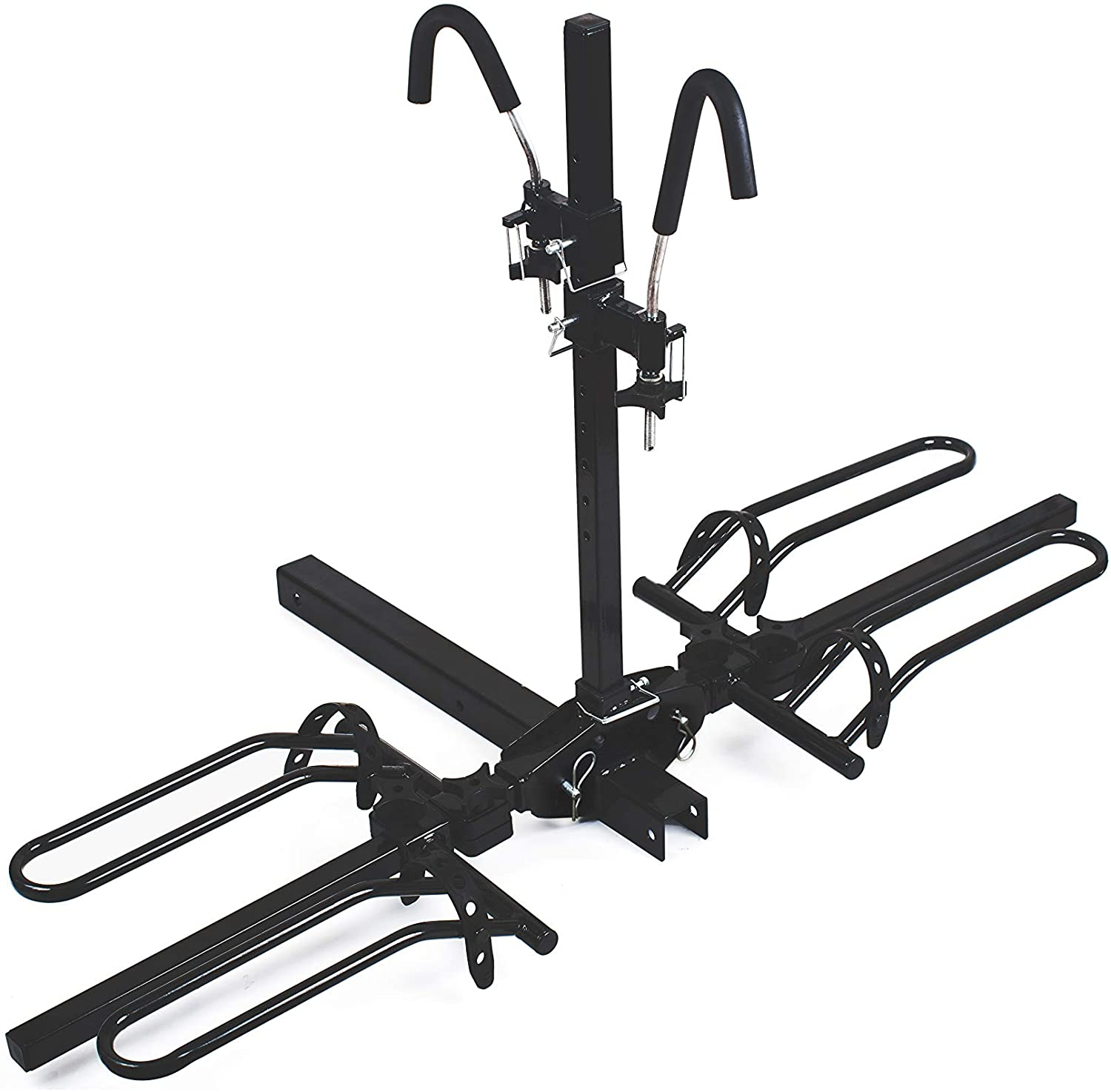 MaxxHaul 50027 Hitch Mount Platform Style 2-Bike Rack