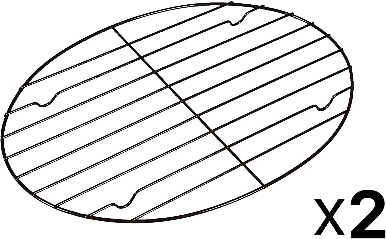 "57213 11.75"" X 10"" Non-Stick Oval Roasting Rack (127442)"