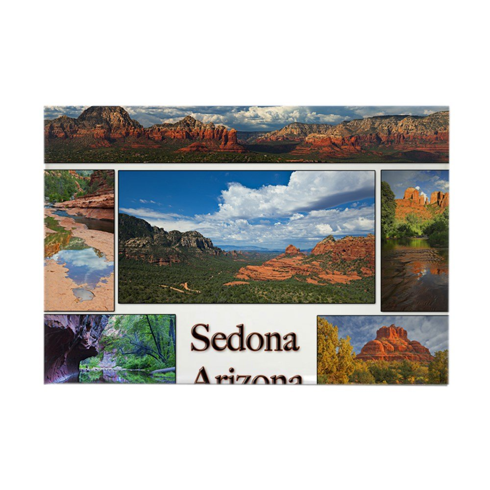 "CafePress Sedona_CALENDAR_11.5x9_print copy Rectangle Magnet Rectangle Magnet, 2""x3"" Refrigerator Magnet"