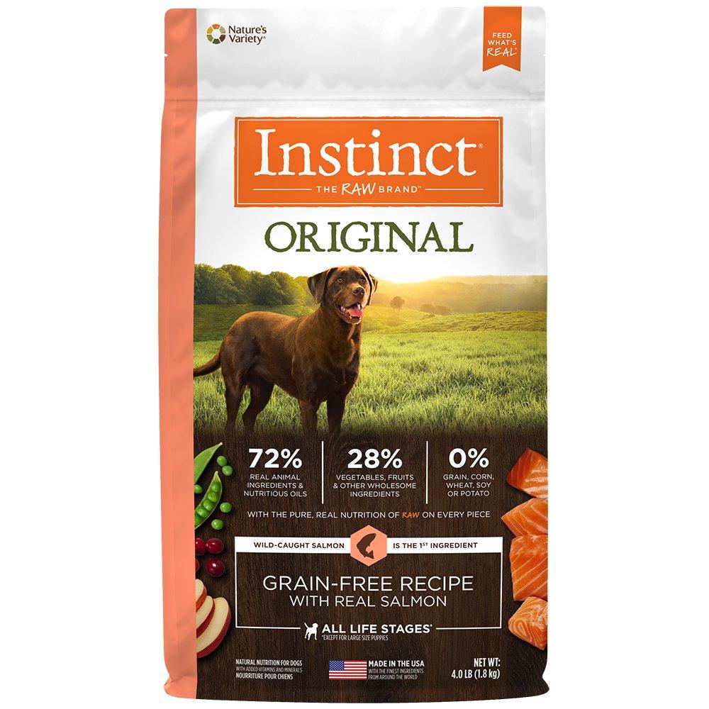 Instinct Original Grain Free Recipe Natural Dry Dog Food by Nature's Variety Salmon