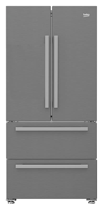 Beko GNE60530X Independiente 508L A++ Acero inoxidable nevera ...