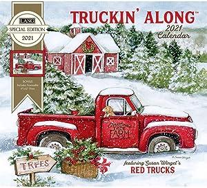 The Lang Companies 2021 Truckin Along Special Edition Wall Calendar