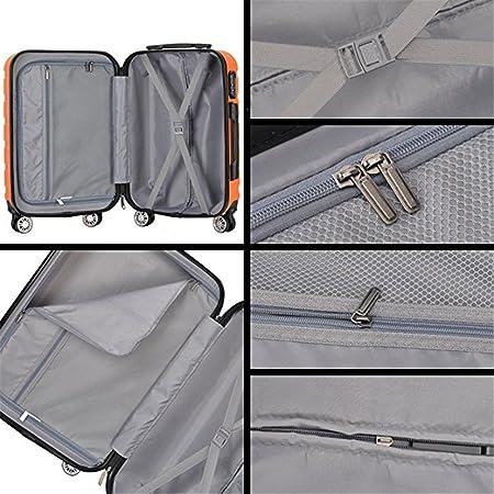 Amazon.com: Resena - Juego de maletas de 3 piezas con ruedas ...