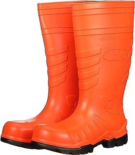 product image for Heartland Footwear Orange Poly Tuff Polyurethane Waterproof Work Boot. Composite Toe, Slip-Resistant