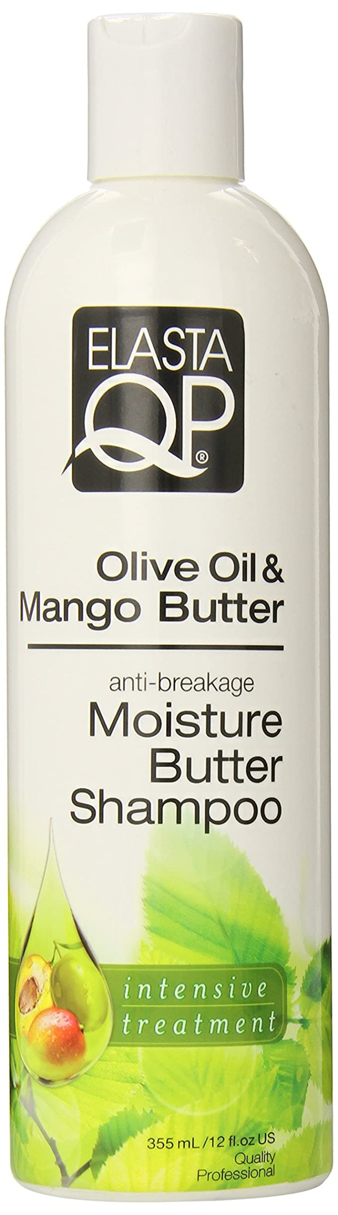 Elasta QP Olive Oil & Mango Butter anti-breakage Moisture Butter Shampoo 12oz
