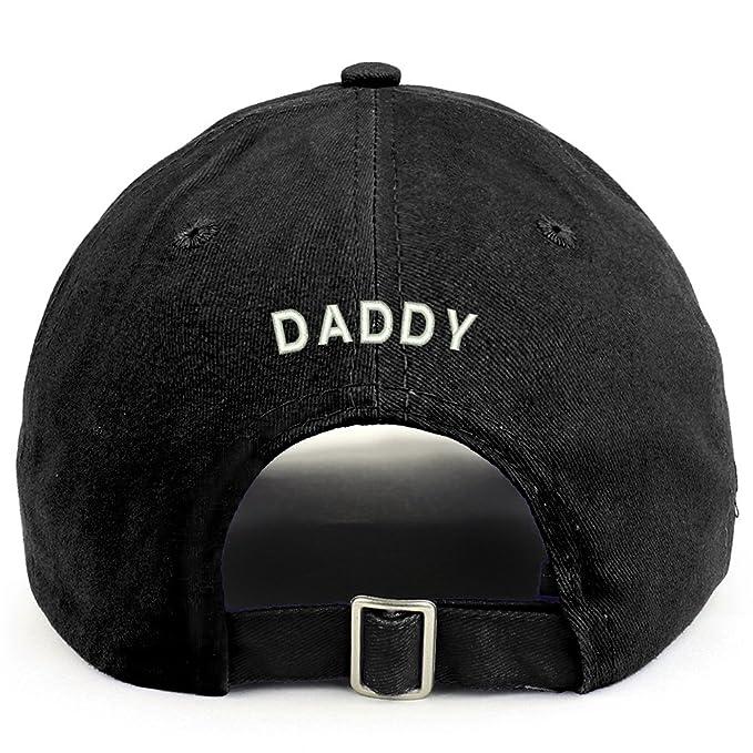 e54e089168685 Amazon.com  Trendy Apparel Shop Daddy (Back) Embroidered 100% Cotton ...