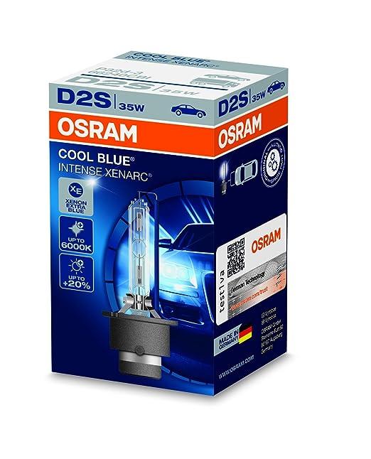 48 opinioni per OSRAM XENARC COOL BLUE INTENSE D2S Lampada per proiettori allo Xeno 66240CBI 20%