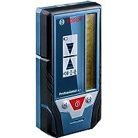 Bosch Professional Lasermottagare LR 7 (röd och grön stråle, 2 x 1,5 V-batterier AAA, mätintervall: 5–50 m, skyddsväska)