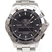 [タグ・ホイヤー] TAG HEUER メンズ腕時計 アクアレーサー クロノタイマー CAF1010.BA0821 ブラック文字盤【中古】 [並行輸入品]