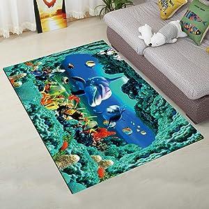 Carpet Kids Room Non-Slip Floor Rug Living Room Carpet Bedroom Mats Bedside Rugs Absorbent Kitchen Mats
