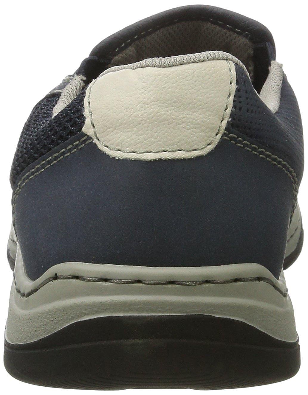 Mens 15253 Loafers, Grey, 6.5 UK Rieker