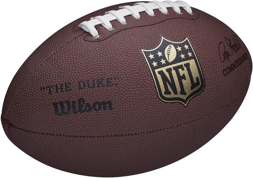 Wilson WTF1825XB Balón de Fútbol Americano, Nfl Duke Replica, Uso Recreativo, Cuero Compuesto, Duradero: Amazon.es: Deportes y aire libre