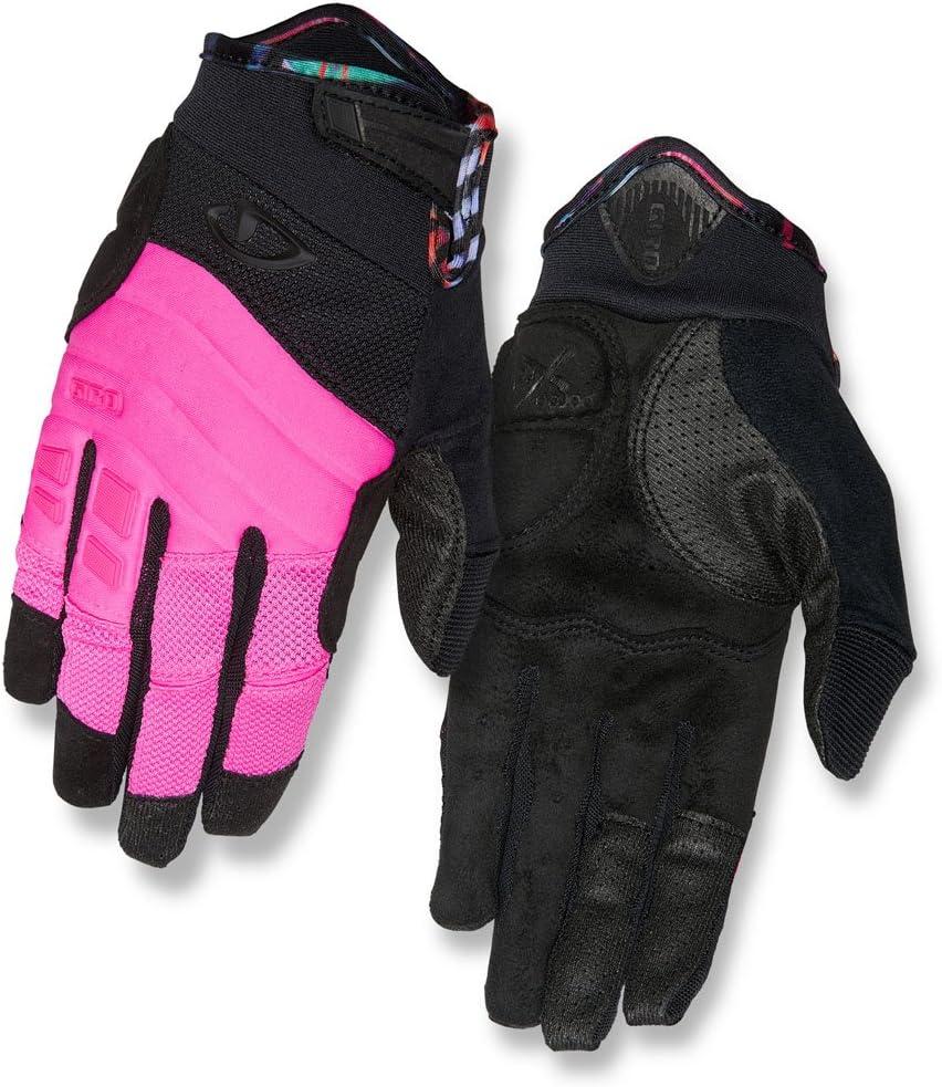 Giro gg22161レディースXenaグローブ ピンク/黒/Tropical Small