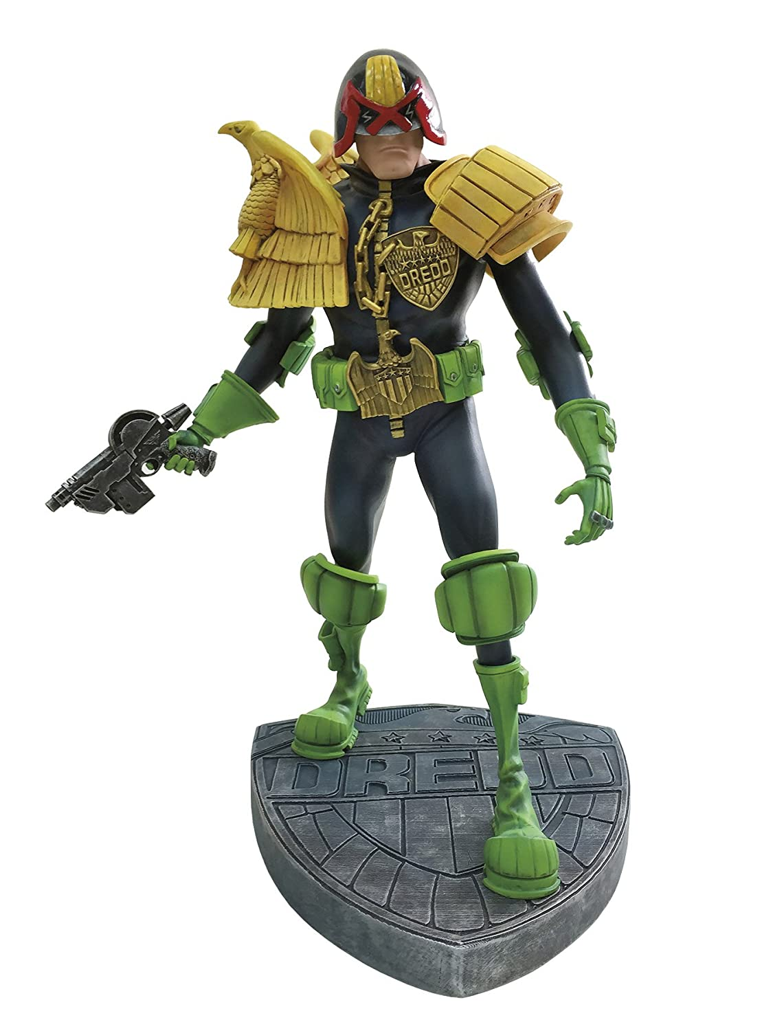 mejor vendido Dark Horse Deluxe Judge Dredd: Artist Edition Vinyl Statue: Mike Mike Mike McMahon Version Statue  distribución global