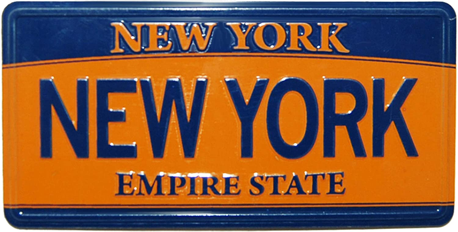 Perfect Souvenir Gift Collection for Men /& Women Who Loves New York /& Empire State New York License Plate Novelty Magnet Empire State License Plate Magnet