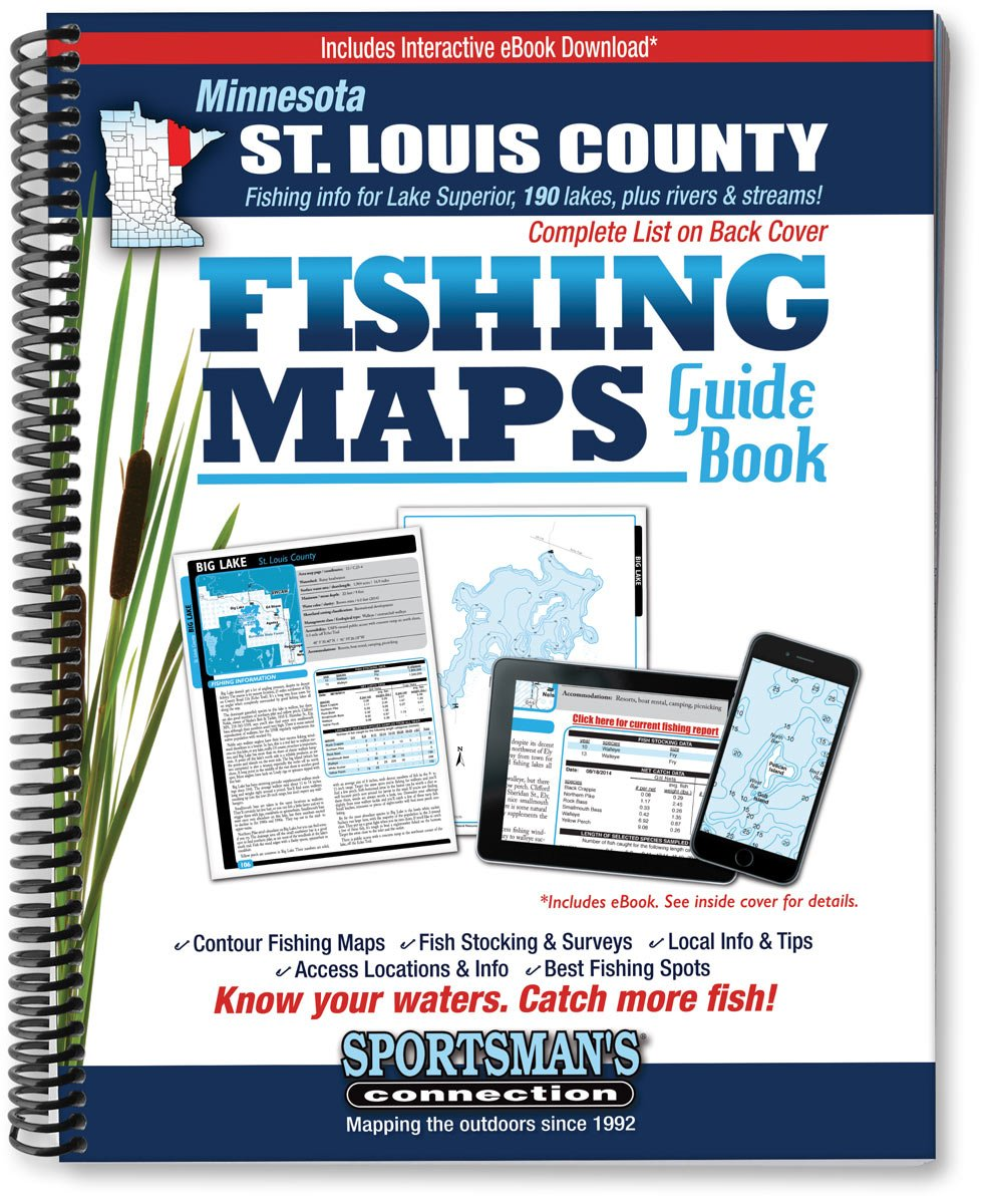 Minnesota St. Louis County Fishing Map Guide (Fishing Maps from Sportsman's Connection) pdf
