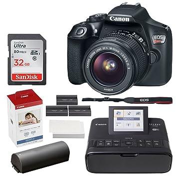 Amazon.com: Canon EOS Rebel T6 Cámara réflex digital + EF-S ...