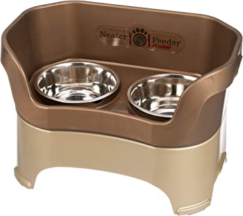 Neater Pet Brands Mess-Proof Elevated Bowls at Amazon