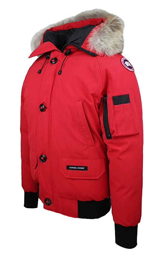 Canada Goose Damen Parka Mantel rot rot X Small: